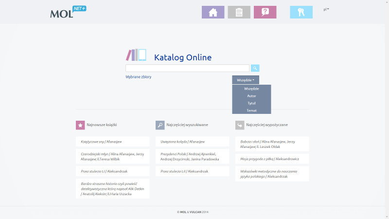 Katalog on-line MOL NET+